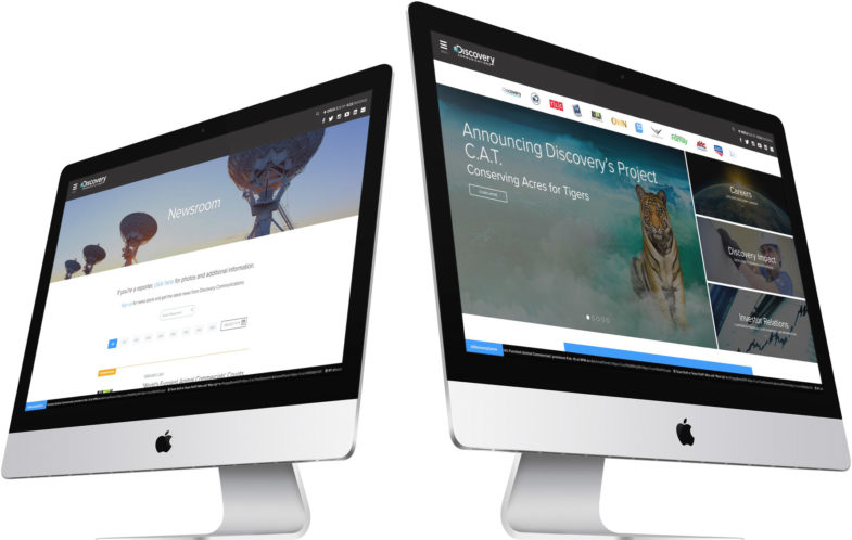 Discovery Communications, Website Design, Custom Design, Development, WordPress