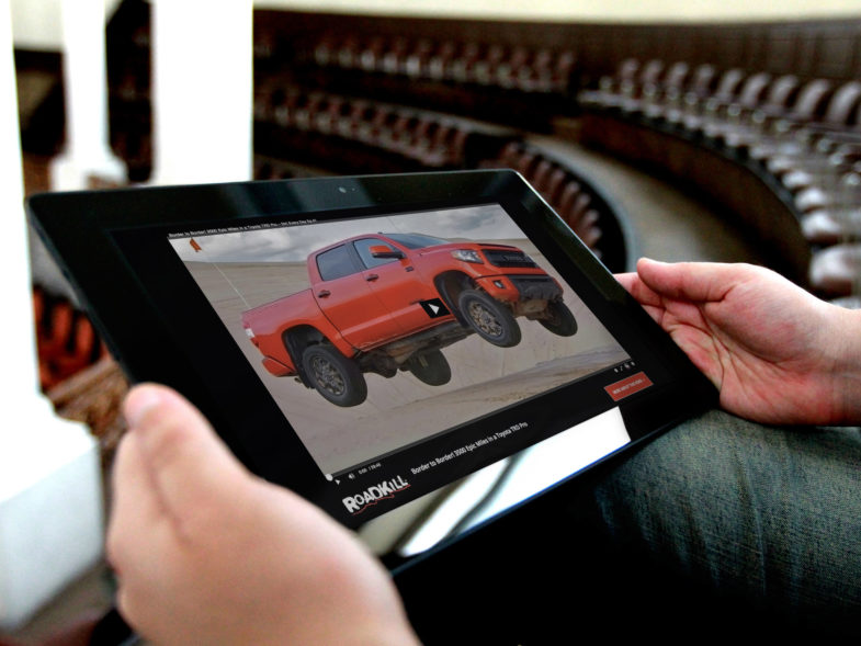 MotorTrend Roadkill Video Repository, WordPress, BuddyPress